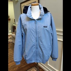 Lands End men's light weight squall jacket NWT